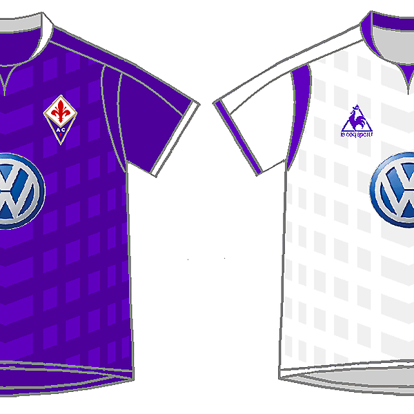 Fiorentina Home y Away Kits