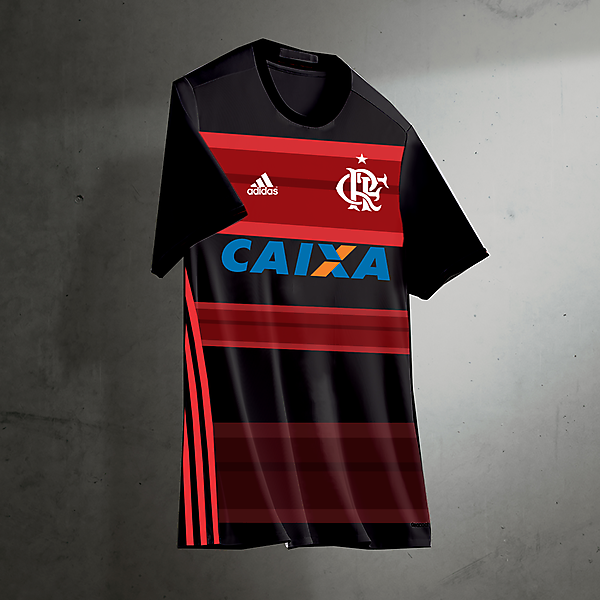 flamengo kits home 2017