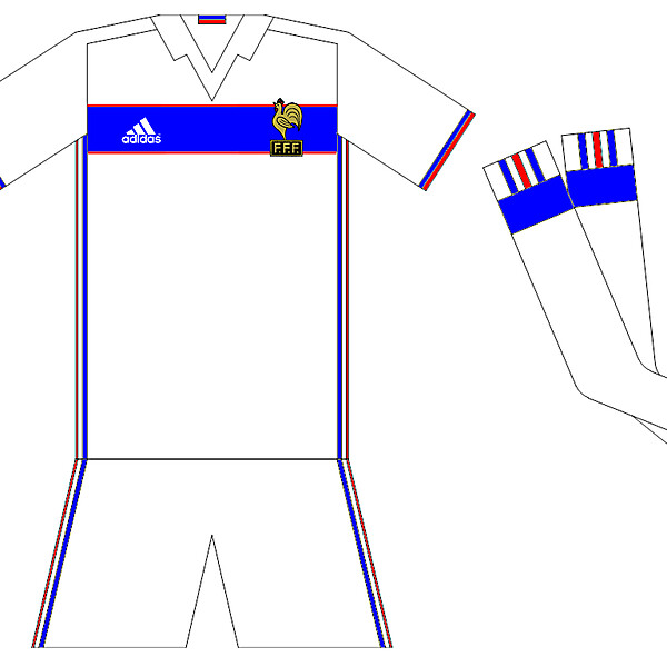 France Away Idea