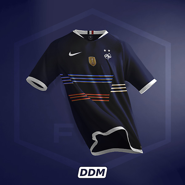 France Euro 2021 - Concept Jersey