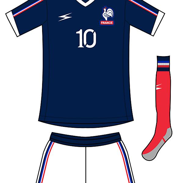 France Fan home kit