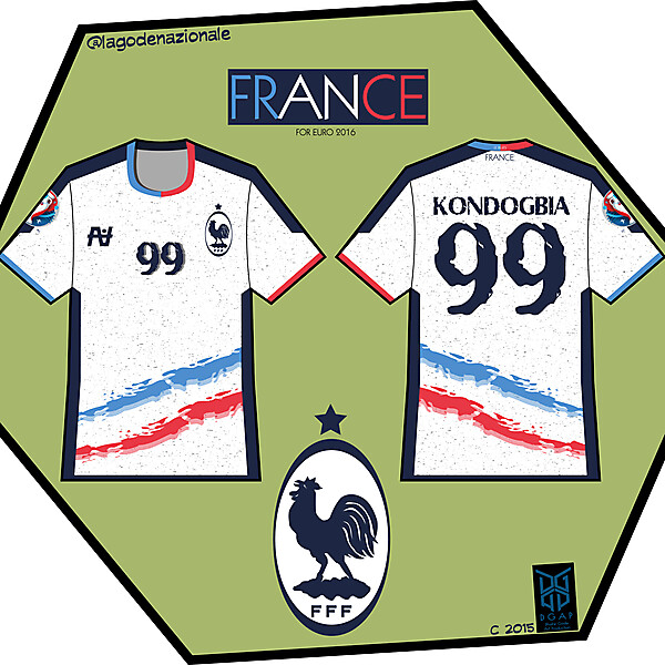 France Fantasy Away and Crest 2016