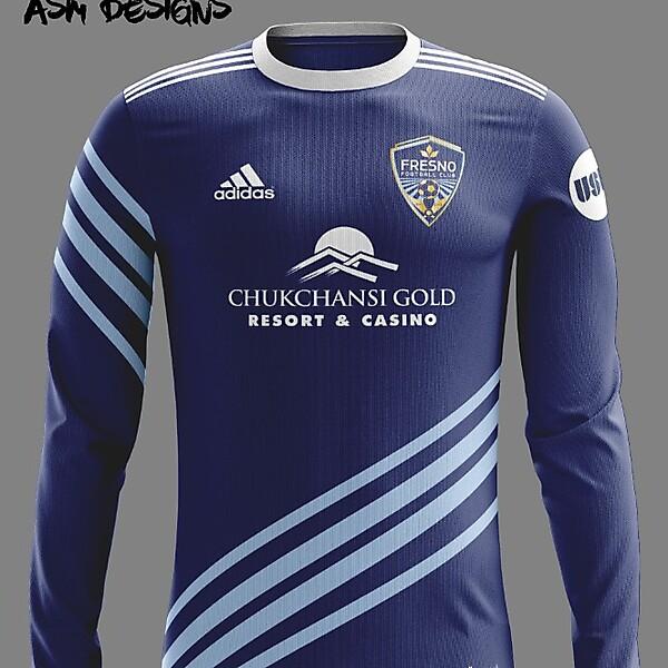 Fresno FC Adidas 2018 Home Kit