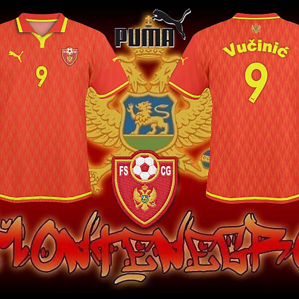 FS Montenegro Home Shirt 2010/11