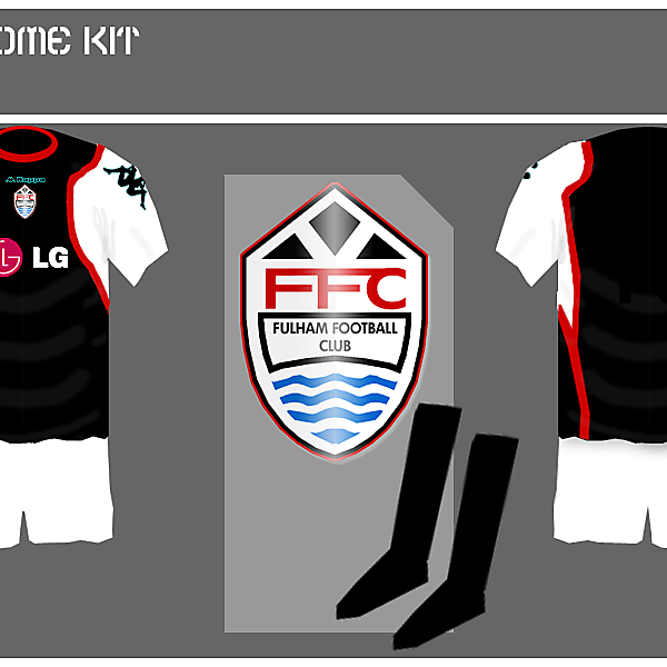 Fulham Away Kit
