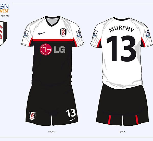Fantasy Fulham Home Football Kit
