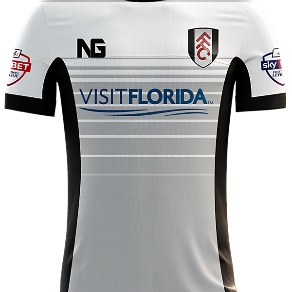 Fulham Home Jersey concept