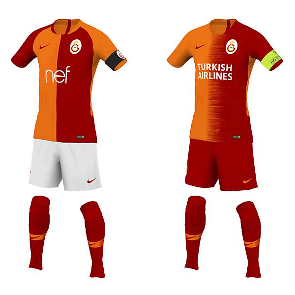 Galatasaray 19 Domestic & Europe