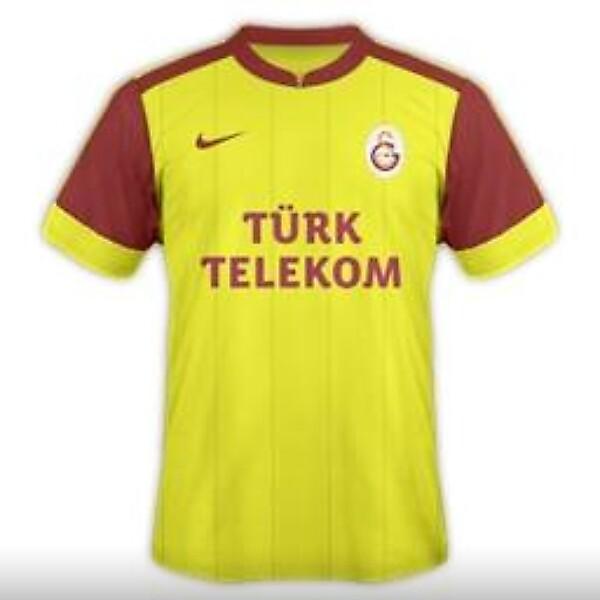 Galatasaray 2014-15 3rd Kit Design