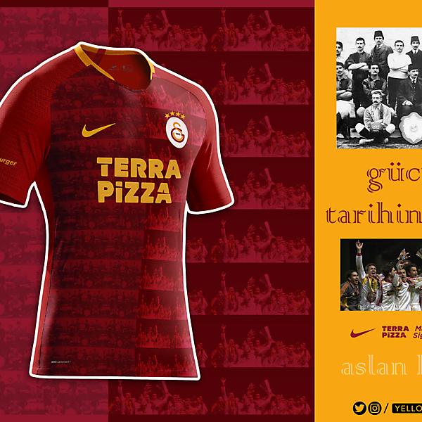 Galatasaray 20/21 Away Design