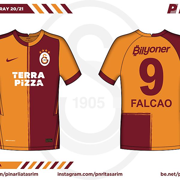 Galatasaray 20/21 Home x NIKE x PNRL