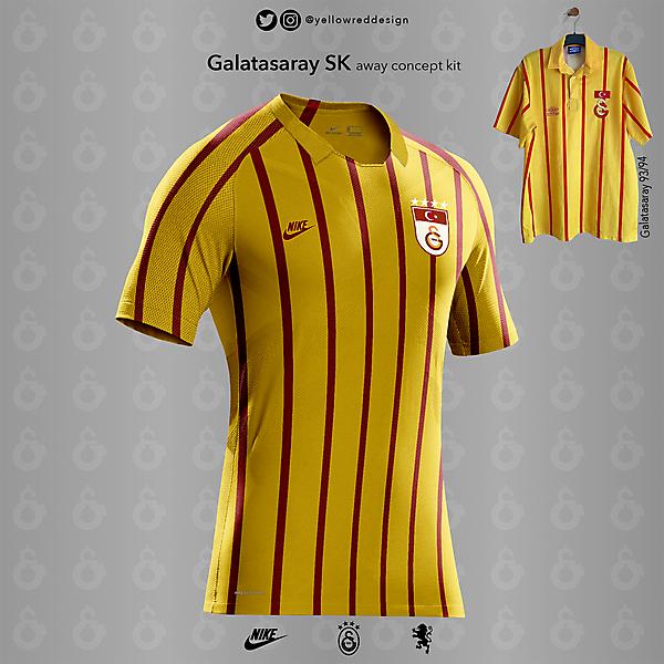 Galatasaray 93/94 Retro Away