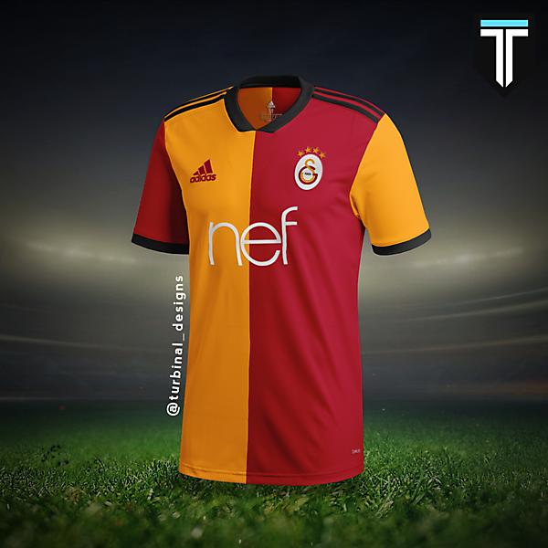 Galatasaray Adidas Home Kit Concept