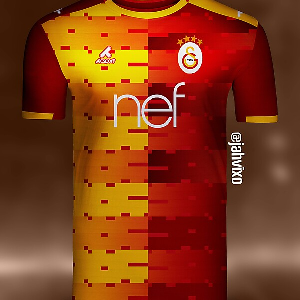 Galatasaray home jersey by Csport