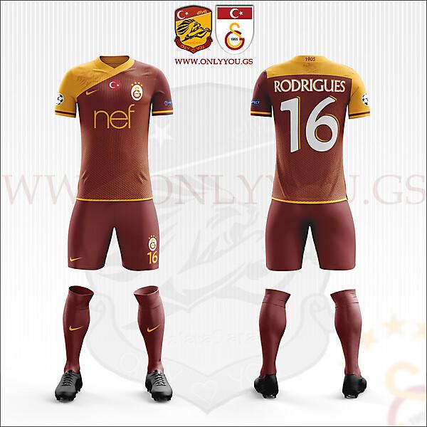 Galatasaray SK   2017-2018 Home Kit