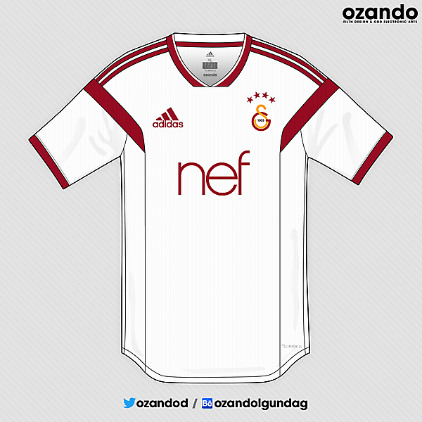 Galatasaray x Adidas | 2019 Away Concept