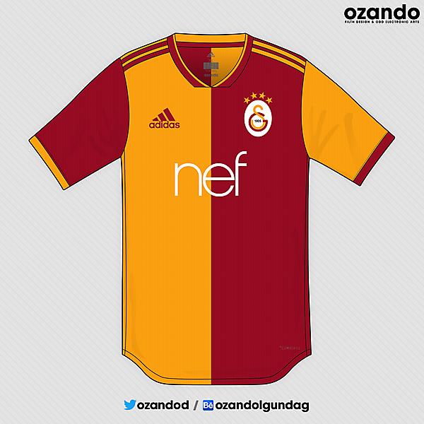 Galatasaray x Adidas | 2019 Home Concept