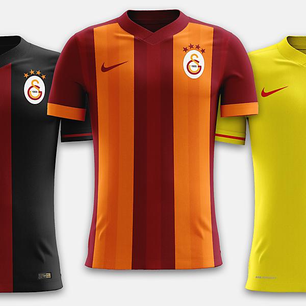 Galatasaray x Nike | 2017-2018 Concept Set