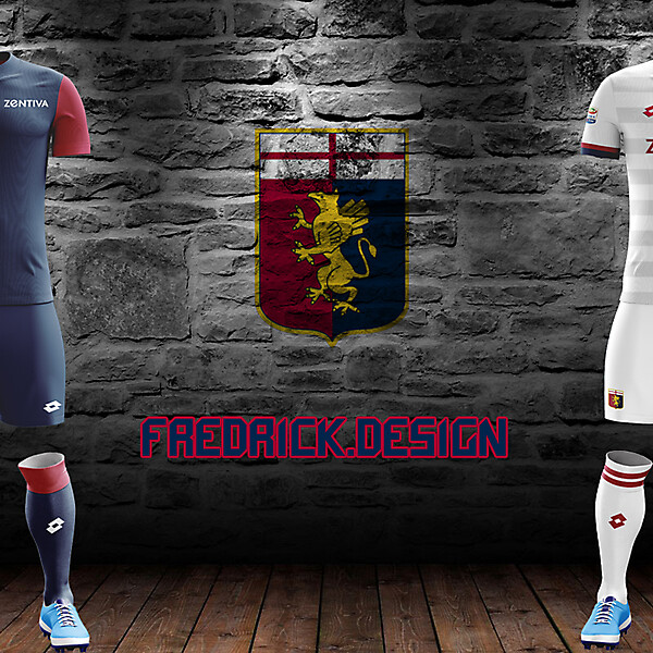 Genoa x Lotto x Home/Away