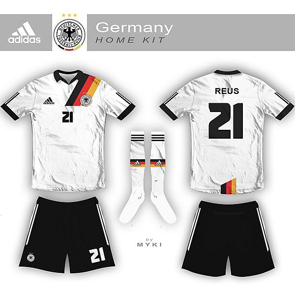 Germany Nation Team Home Kit