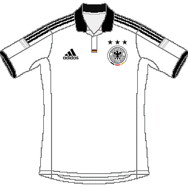Germany Adidas 2015 Home Shirt