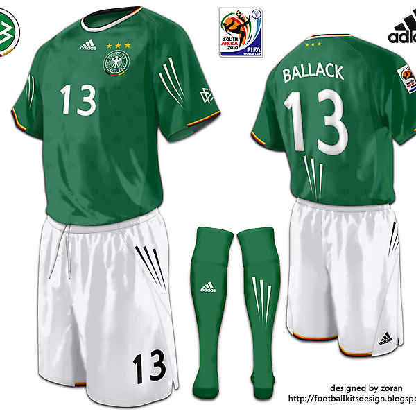 Germany World Cup 2010 fantasy away
