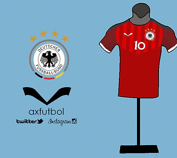 Germany away kit design