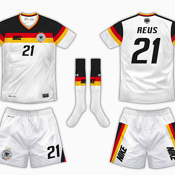 Germany Home Kit - Nike