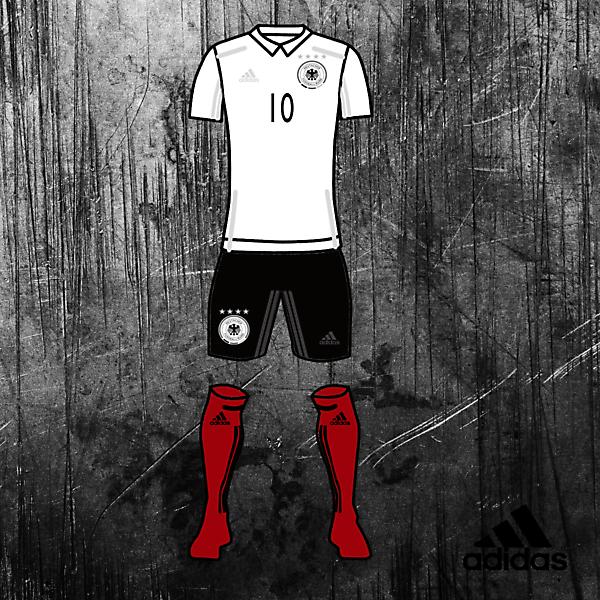 Germany Kits Home 2017