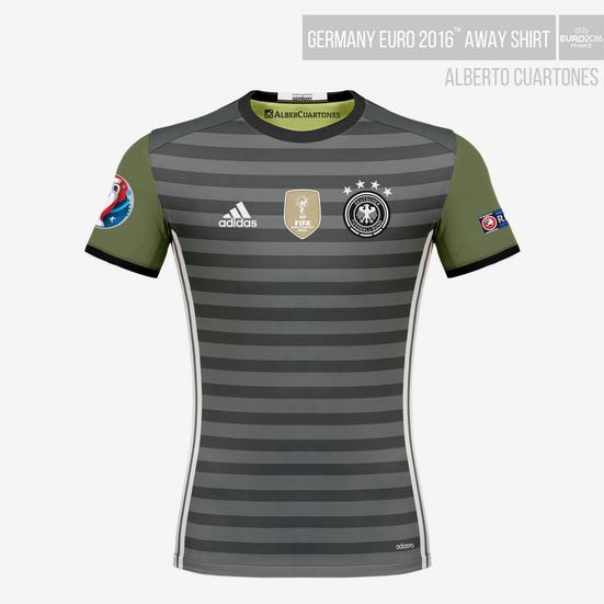 Germany UEFA EURO 2016™ Away Shirt