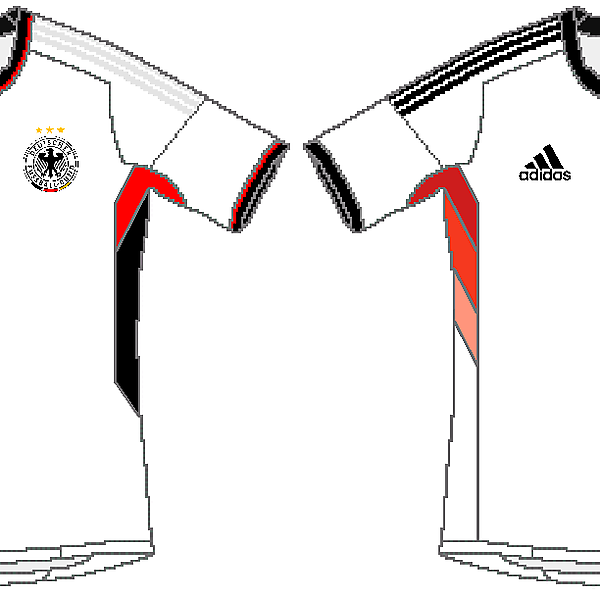 Germany Adidas World Cup Home Kits