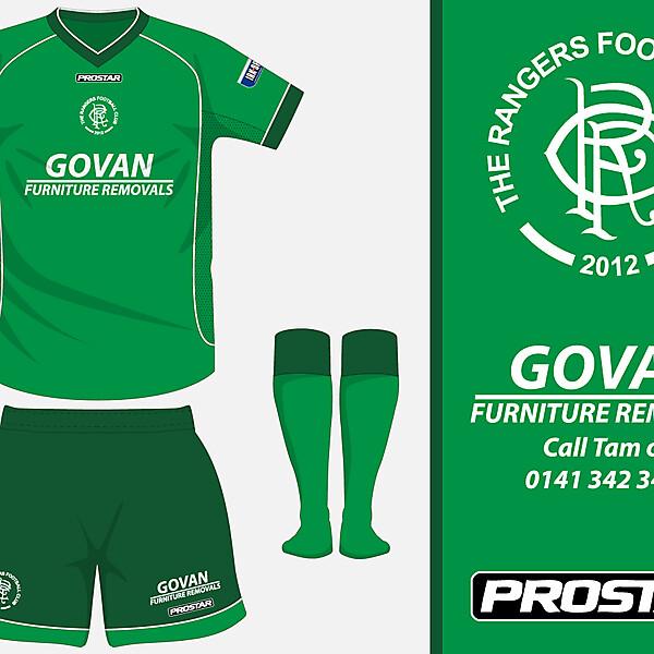 The Rangers FC - Away Kit