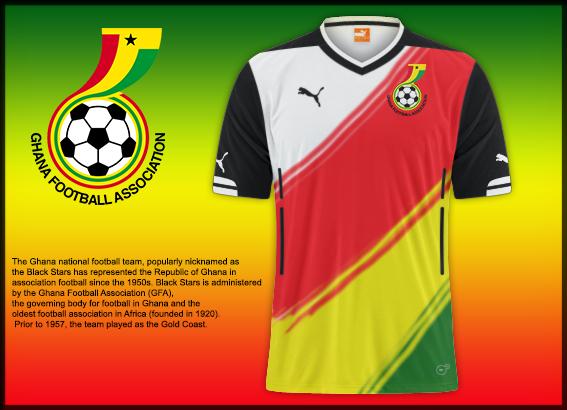 Ghana National Team Home