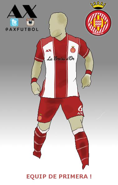 Girona FC home kit