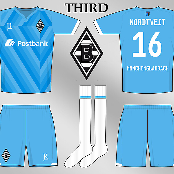 Borussia Monchengladbach Thirds