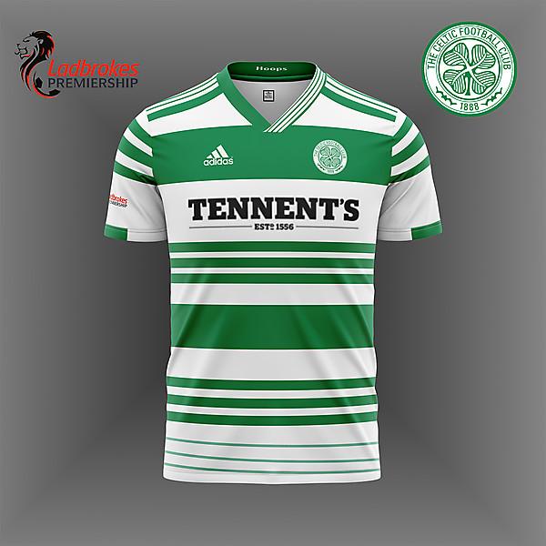 Glasgow Celtic  Adidas 20/21 kit concept