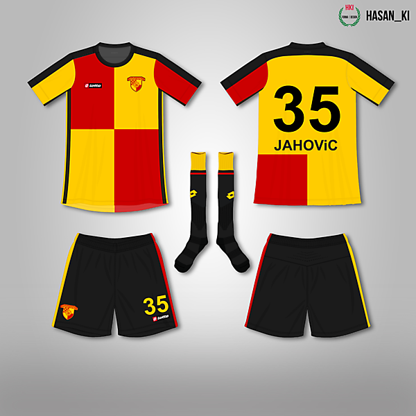 Göztepe x Lotto Concept Home Kit