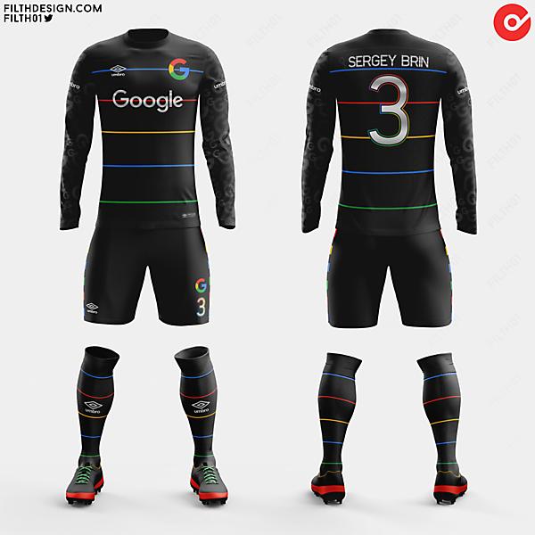 Google x Umbro | Away Kit