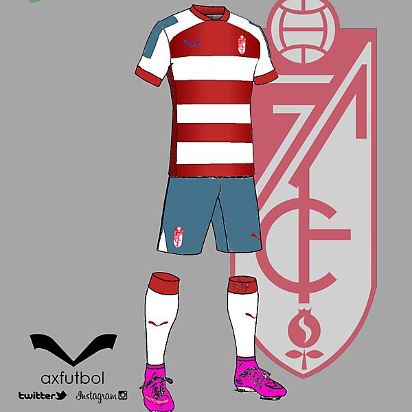 Granada CF home kit design