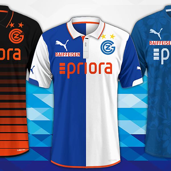 Grasshopper club Zurich / Puma Kits