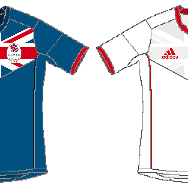 Great Britain Olympic Team Adidas