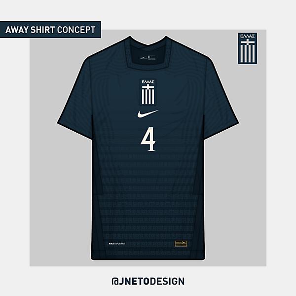 Greece | away shirt concept | @jnetodesign