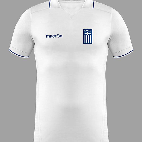 Greece Away x Macron