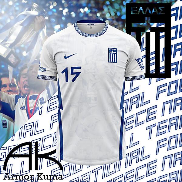 Greece Nike Home Kit