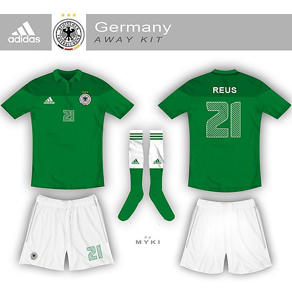 Germany Nation Team Away Kit