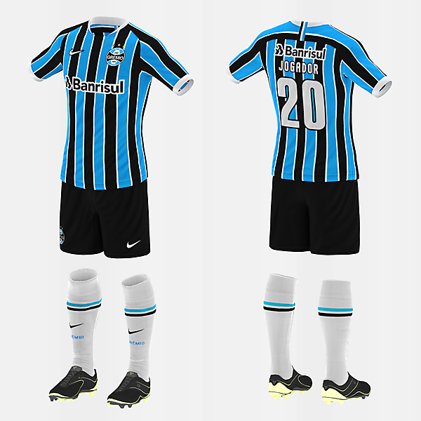 Grêmio (Home/Nike) (#fbr1920)