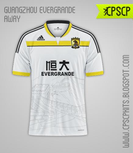 Guangzhou Evergrande Away