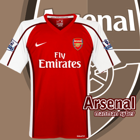 Arsenal Home Kit 08/10 (What it should have been)