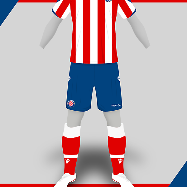Hajduk Macron Third