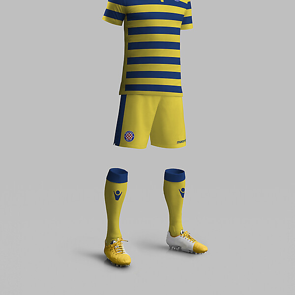 Hajduk Split 3rd kit concept
